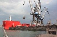 Третье судно с углем из ЮАР прибыло в Украину