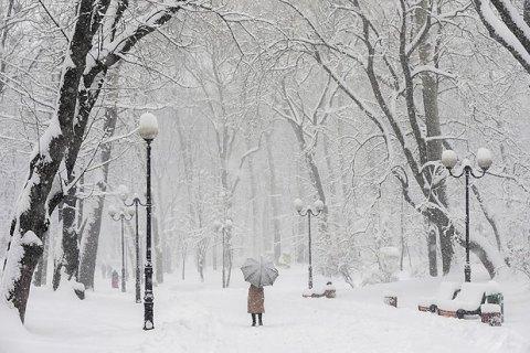 У вівторок у Києві похолоднішає до -8 градусів