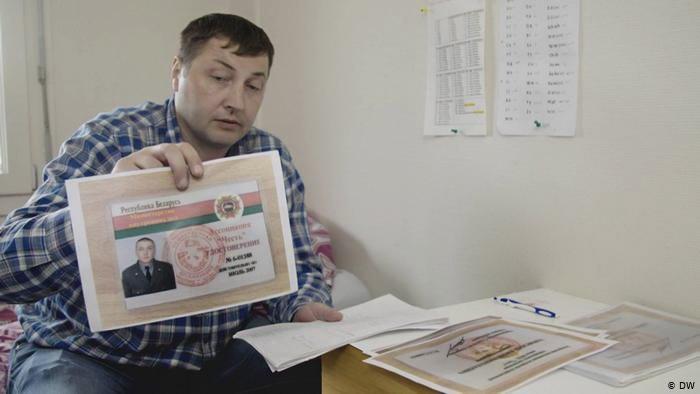 Экс-боец белорусского СОБРаЮрий Гаравский