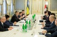 Порошенко предложил Грузии вместе стимулировать Европу к продлению санкций против РФ