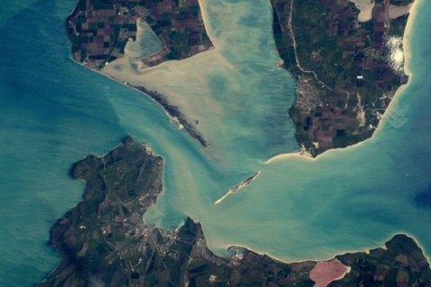 Астронавт NASA показав, як виглядає Керченський міст із космосу