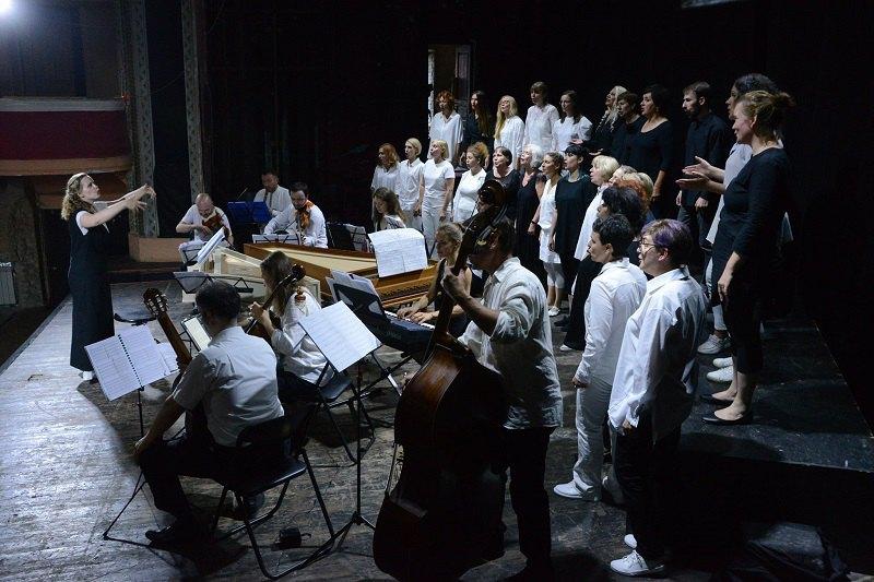 """Постановка """"Rappresentatione di Anima et di Corpo"""" від хору Б.А.Х."""