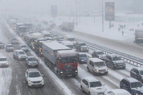 У середу в північних і більшості центральних областей очікується невеликий сніг