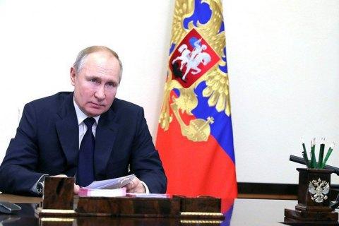 """Путин впервые прокомментировал закрытие """"телеканалов Медведчука"""""""