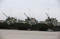 В Мукачево столкнулись две боевые машины, 4 военнослужащих госпитализированы