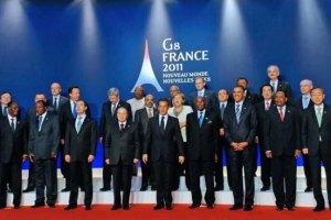 """Саммит """"Большой восьмерки"""" начался с рабочего обеда"""