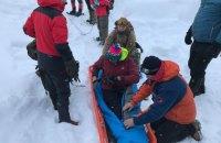Туриста, потерявшегося в Карпатах, отправили в больницу