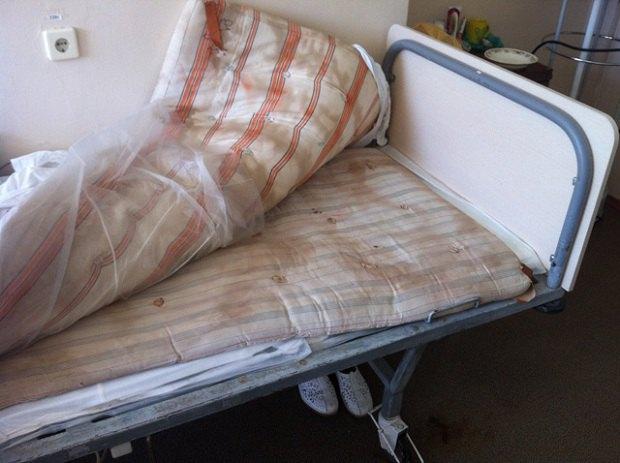 Ліжко у пологовому будинку №1 Севастополя. Фото sevnews.info
