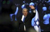 Партия Нетаньяху победила на третьих за год выборах в парламент Израиля