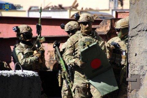 СБУ провела плановые антитеррористические учения в Мариуполе