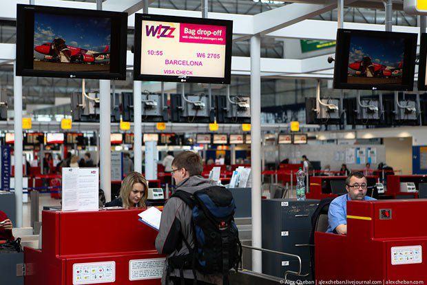 Украинцы пока используют только Wizz Air