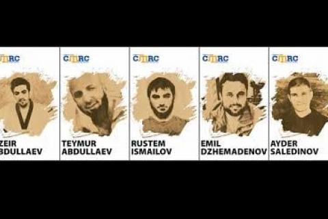 """Верховный суд РФ рассмотрит апелляцию пятерых крымских татар, приговоренных к 68 годам тюрьмы за """"терроризм"""""""
