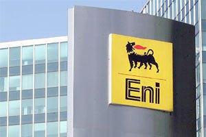 Eni вивчає можливість постачання газу в Україну