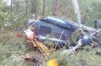 На Трухановому острові в центрі Києва розбився вертоліт