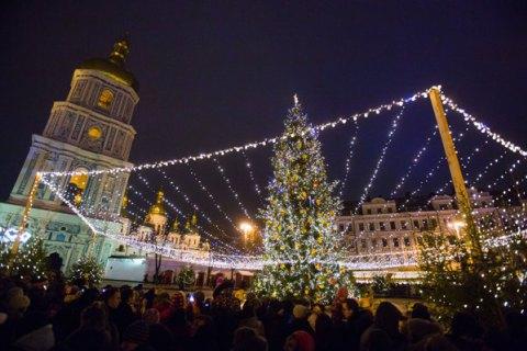 Новорічна ніч в Україні пройшла без пригод