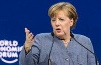 Меркель подчеркнула важность сохранения транзита газа через Украину