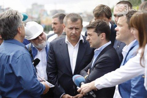 Капитальный ремонт моста в Днепре должен быть завершен до 14 сентября - Президент