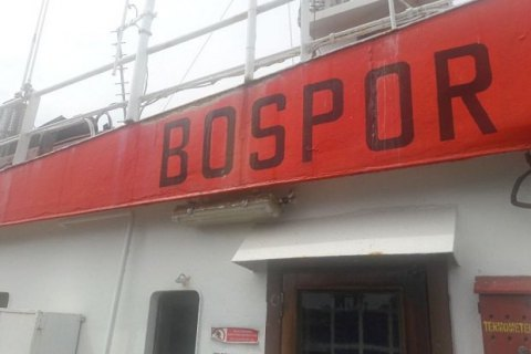 Пограничники задержали судно под флагом Молдовы, переправлявшее моряков в оккупированный Крым