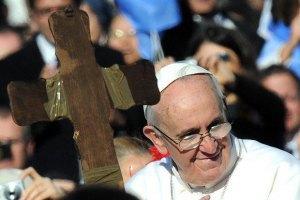Папа Римський побажав миру Україні