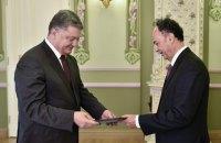 Семь иностранных послов вручили верительные грамоты Порошенко