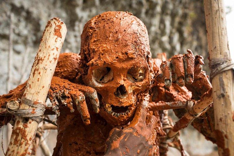 Ритуал восстановления мумий родственники проводят каждый год