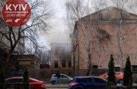 У Києві втретє за тиждень горить відселений будинок у районі Лук'янівки