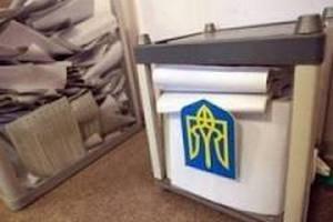 В Одессе студенты голосуют прямо в халатах