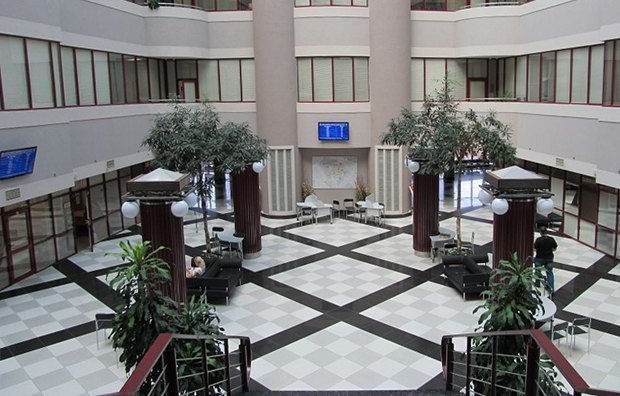 Холл Центра админуслуг Соломенского района