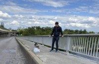 """Поліція повідомила про підозру """"мінерові"""" мосту Метро"""