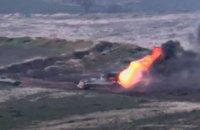 Минобороны Армении опубликовало видео боев на границе с Азербайджаном (обновлено)