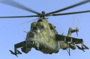 2 российских вертолета Ми-24 нарушили воздушное пространство Украины