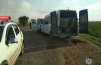 В Одесской области столкнулись лоб в лоб маршрутка и микроавтобус