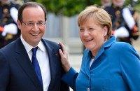 Меркель и Олланд высказались за сохранение Греции в еврозоне