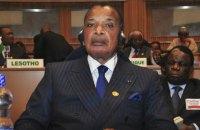 Правящий 32 года президент Республики Конго переизбран на третий срок