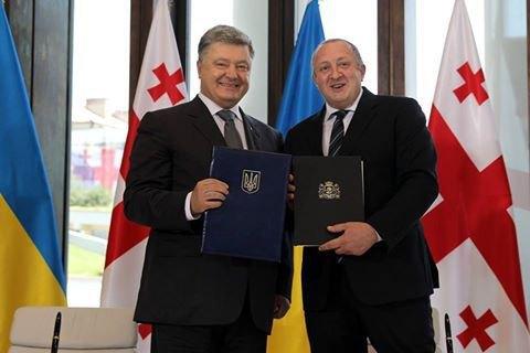 Україна і Грузія стали стратегічними партнерами