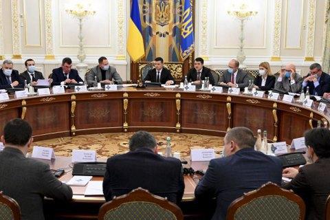 По решению СНБО введены санкции в отношении 6 иностранцев и 10 компаний