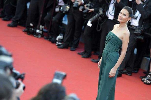 Французская актриса Вирджин Ледойен