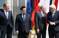 """Германия инициировала заседание """"нормандской четверки"""" на уровне глав МИД"""