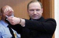 Лікування Брейвіка обійдеться Норвегії вчетверо дорожче за його ув'язнення