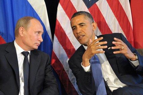 Обама и Путин обсудили Минские соглашения