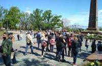 В Одессе на акциях к 9 мая произошло массовое нарушение карантина