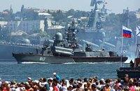 Россия вывела в Черное и Средиземное моря свою флотилию