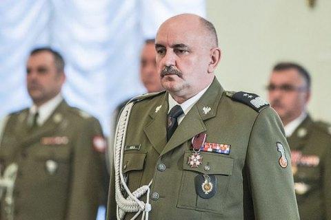 Генерал збройних сил Польщі заразився коронавірусом після поїздки до Німеччини