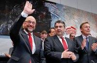 Партия Шульца оказалась популярнее политсилы Меркель