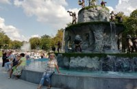 У центрі Харкова з'явився обіцяний Кернесом фонтан з мавпами
