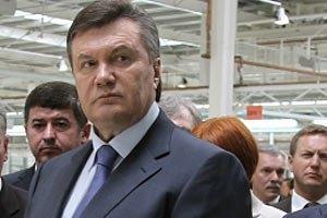 Янукович снова заговорил о выходе из Энергосообщества