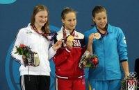 Украинцы за день завоевали три медали на Европейских играх