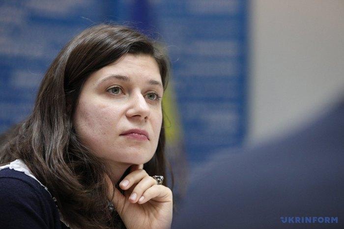 Юристка Центру стратегічних справ Української Гельсінської спілки з прав людини Надія Волкова