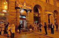 На Крещатике в Киеве произошел пожар в ресторане