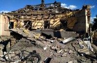 Боевики возобновили обстрелы жилого сектора Авдеевки, мина попала в дом